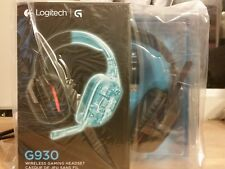 Logitech Wireless Gaming Headset G930 7.1 Surround Sound Headphones Microphone