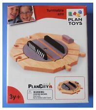 Binari in legno ferrovia rotatoria incrocio rotaie accessori trenino Plan Toys