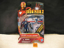 "Iron Man 2 Concept Series STARK RACING ARMOR 3.75"" Action Figure New 2010 HASBRO"