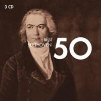 50 Best Beethoven - Various Artists (NEW 3 x CD)
