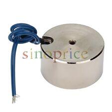 12V DC 50kg Electric Lifting Magnet Holding Electromagnet Magnetic chuck 500N