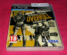 THE HOUSE OF THE DEAD OVERKILL EXTENDED CUT SONY PS3 TRES BON ETAT 100% FRANCAIS