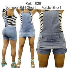 Levanta Cola Divas Jumper Short Skirt Skort Colombian Jeans
