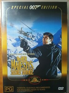 On Her Majesty's Secret Service (DVD) VGC - Comes with Booklet