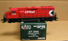 Kato 37-045 HO Canadian Pacific GP35 #5019 Packman logo/red paint
