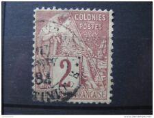 timbre France : colonies émissions générales Alphèe Dubois n° 47