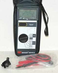 Megger BM400/2 Insulation Continuity Multimeter Tester