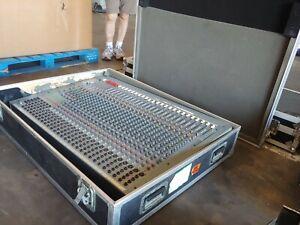 Soundcraft Spirit Studio Professional 24 Channel Mixer Console with Case