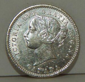 1880-H Canada 10 Cents - 10¢ - Victoria