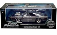 JADA Fast & Furious DOM'S DODGE CHARGER R/T Chrome Limited Ed Item 55401 1:24