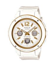 BGA-151-7B White Casio Baby-G Ladies Watches Analog Digital Neon Packy Resin