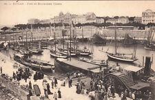 ROYAN 31 port et boulevard thiers bateau à roue aube