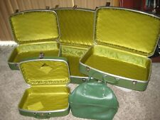 REDUCED - Vintage 5 Piece Nesting Luggage Set