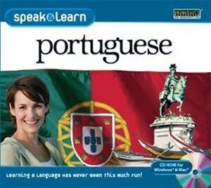 Speak & Learn Portuguese  XP Vista 7 8 10  MAC  NEW  Speak Portuguese right away