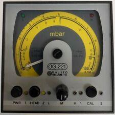 Galileo Vacuum Tec OG 221, gebraucht
