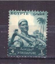 FRANCOBOLLI Egitto Egypt 1954-55 - Serie Ordinaria 4 m. YV367A