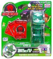 TURNING MECARD W VENOSA GREEN Toy Transformer Transforming CAR ROBOT Korean _NV