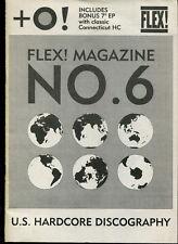 Flex!  U.S.Hardcore Discography  (Fanzine)  No. 6