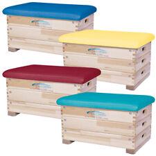 Grevinga® Sprungkasten   Farbig   Turnkasten   Sprungbock   Holz  3-teilig