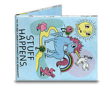 Stuff Happens Tyvek Mighty Wallet Bi-Fold Wallet by Dynomighty