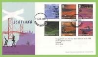 G.B. 2003 Scotland set, Buckingham Palace cds, Royal Mail First Day Cover
