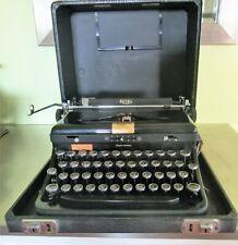 Vintage Royal Touch Control Typewriter 1930s Glass Keys