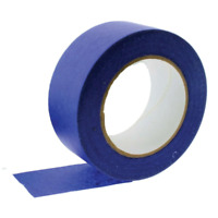 1x Blue Masking Tape 48mmx50m UV Resistant Painters Painting Outdoor Adhesive