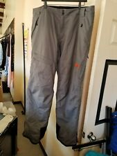Marker Mens Size XXL 2XL Ski Snow Pants Gray Snowboard