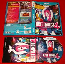 JUST DANCE 4 Nintendo Wii U WIIU Versione Italiana 1ª Edizione ○ USATO - FF