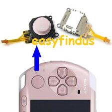 for PSP 3000 series SLIM Replacement repair parts Button Analog Joystick pink