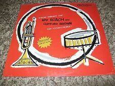 SEALED Jazz LP Best of Max Roach and Clifford Brown In Concert GNP Label!