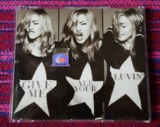 Madonna ~ Give Me All Your Luvin' ( Malaysia Press ) Cd