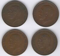 George V One Penny Coins | Bulk Coins | Pennies2Pounds