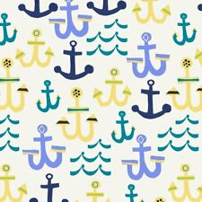 Seaside 42695-3 Anchors Cotton Quilt Sewing Windham Fabric BTY
