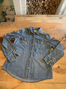 J Crew Denim Shirt Size 10