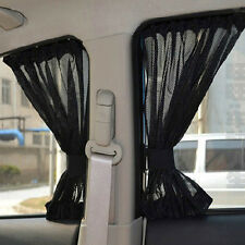 2x Car Sun Shade Car Curtains For Front Side Window Interior Accessories Summer