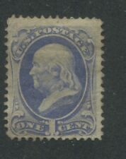 1870 US Stamp #145 1c Mint F/VF No Gum Perf 12. Catalogue Value $240