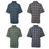 Carhartt Men's Classic Plaid S/S Woven Shirt XL-4XL (Retail $40)