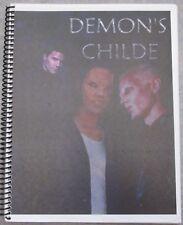 "Buffy the Vampire Slayer Fanzine ""Demon's Child"" SLASH Novel Spike Xander Angel"