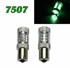 7507 BAU15S PY21W 80W LED Bulb 150° Green Front Signal Light Lamp M1 MAR
