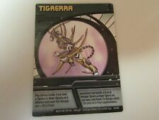 Bakugan Tigrerra Green Ability Card
