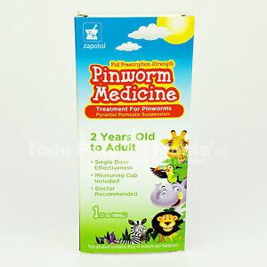 Treatment Pinworm 1 fl oz Liquid 2 Years old to Adult