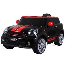 12V Electric Mini Paceman Kids Ride On Car Licensed R/C Remote Control Mp3 Black