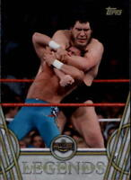 2018 Topps Legends of WWE Wrestling Base Singles (Pick Your Cards)