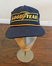 Good Year Tires Trucker Baseball Cap Blue Yellow #1 in Racing
