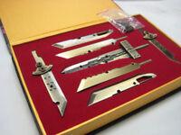 FINAL FANTASY - SET 7 ESPADAS METAL / CLOUD STRIFE / 7 METAL SWORDS SET