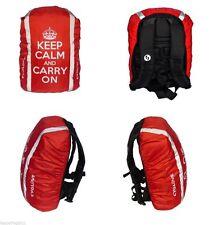 CYGLOVE Bike Hi-Viz Reflective Hump Backpack Bag Rucksack Cover RED Keep Calm