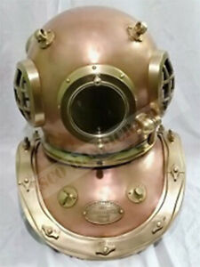 Collectable Siebe Gorman Diving Helmet 12 Bolt Deep Sea Divers Helmet Replica