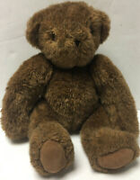 "1984 Vermont Teddy Bear Brown Jointed 14"" Plush Classic Limited Edition Vintage"