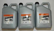 0781 2002 Stihl SynthPlus Sägekettenöl Sägekettenhaftöl Kettenöl 3x 5L Kanister